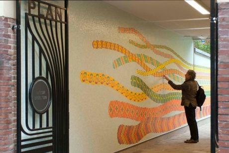 Kunstwacht amsterdam stadsdeel west - Kleur schilderij gang ingang ...